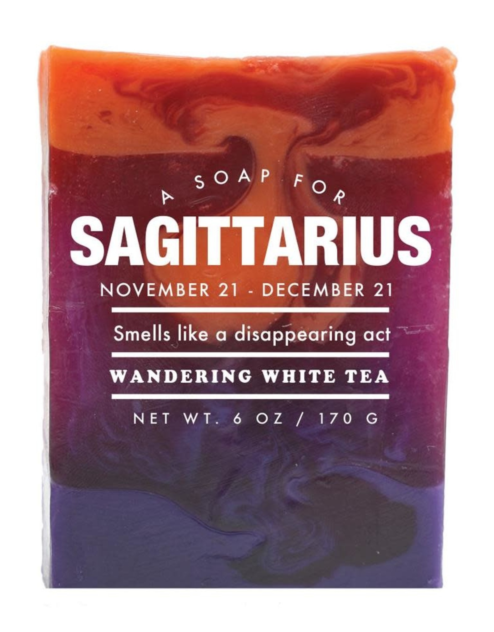 Whiskey River Soap WER - Soap/ Sagittarius 6 oz