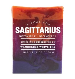 Whiskey River Soap WER - Soap / Sagittarius 6 oz