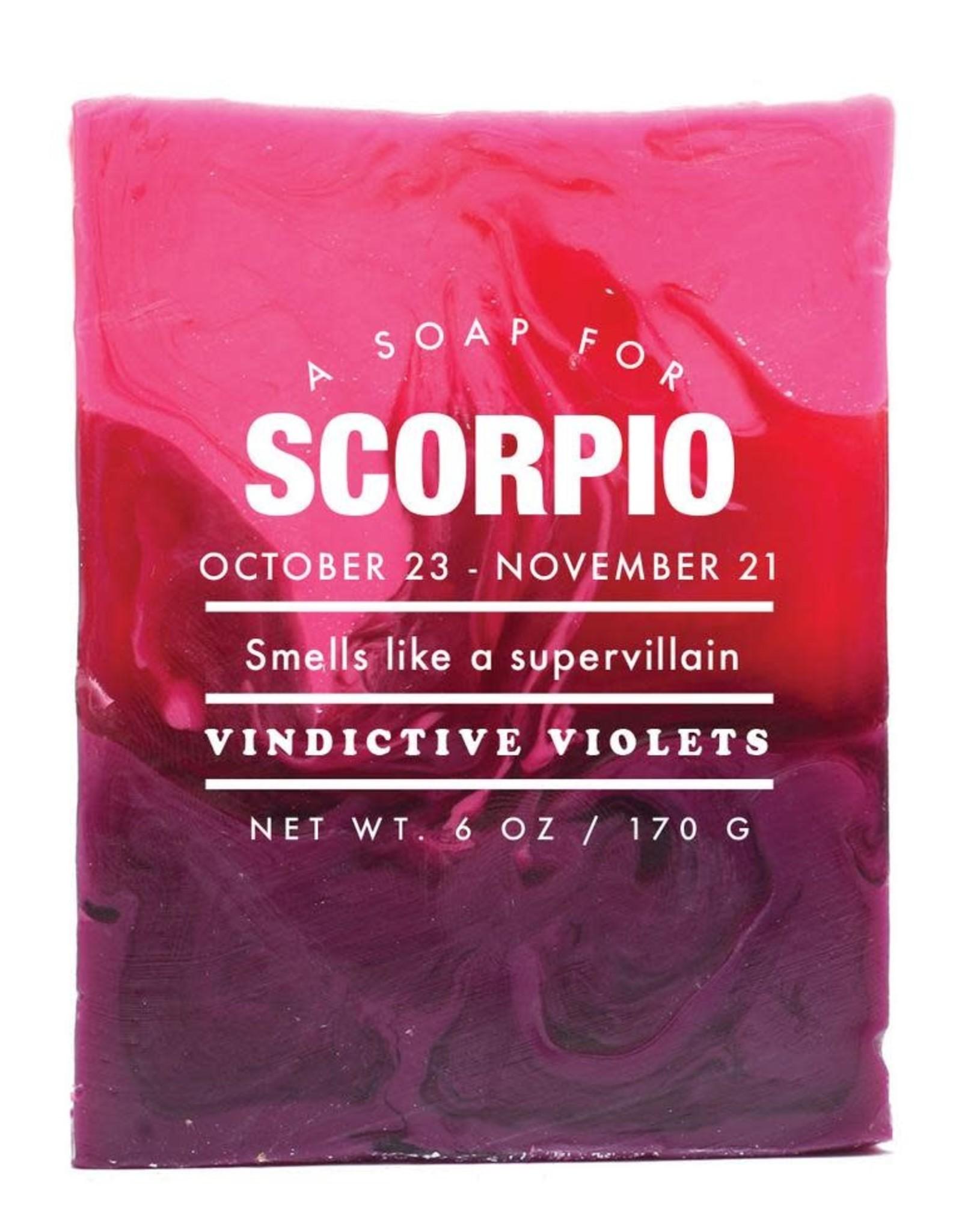 Whiskey River Soap WER - Soap/ Scorpio 6 oz