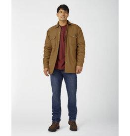 Dickies - Water Resistant Canvas Jacket Plaid Lining / Brown or Black