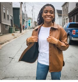 Bonanza - Faux Leather Brooklyn Jacket