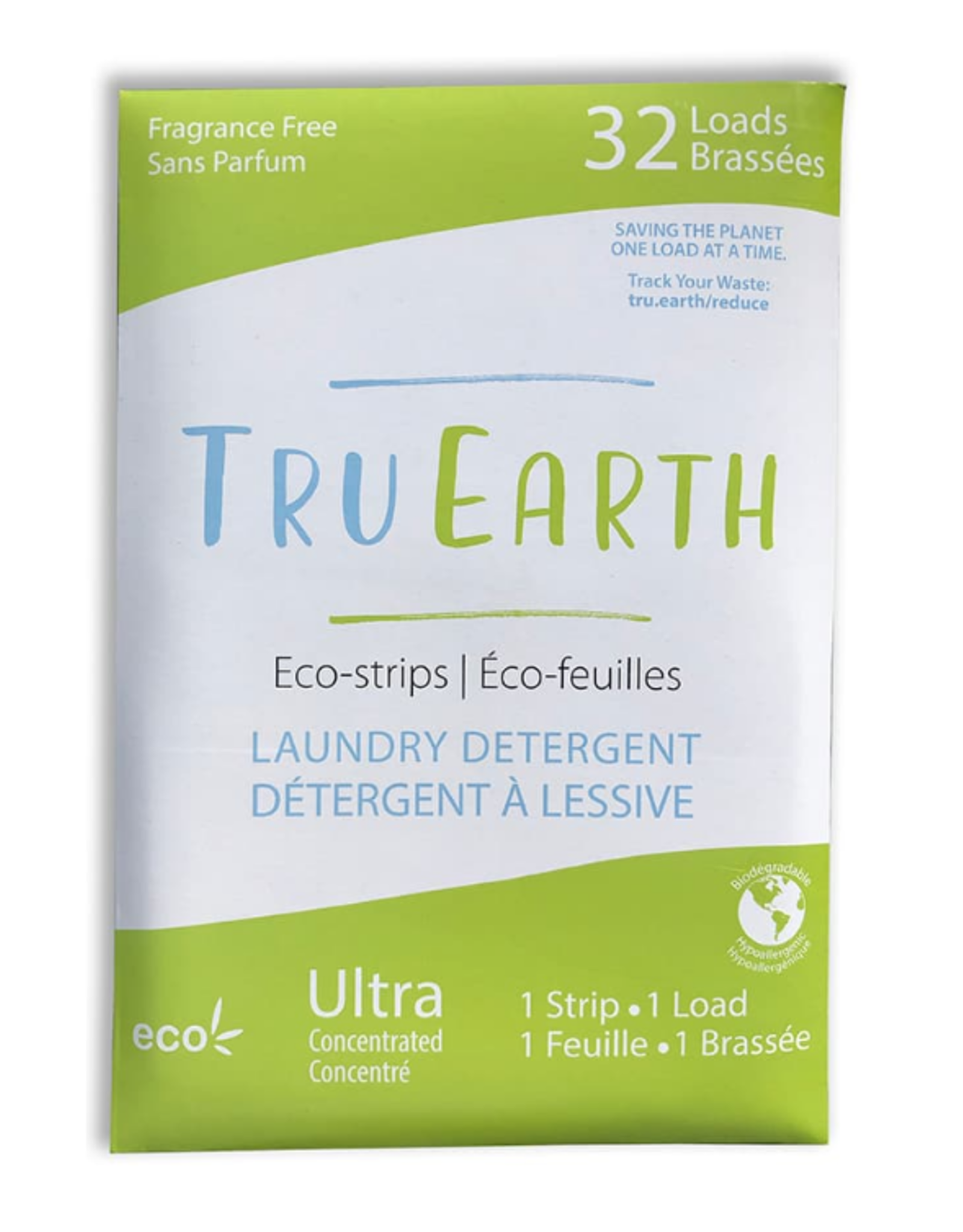 Tru Earth - Laundry Detergent Strips/Set 32 Unscented