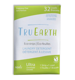Tru Earth - Eco Laundry Detergent/32 Strips, Unscented