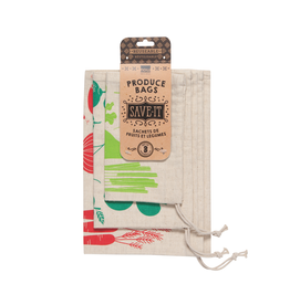 DCA - Cotton Veggies Produce Bags/Set 3