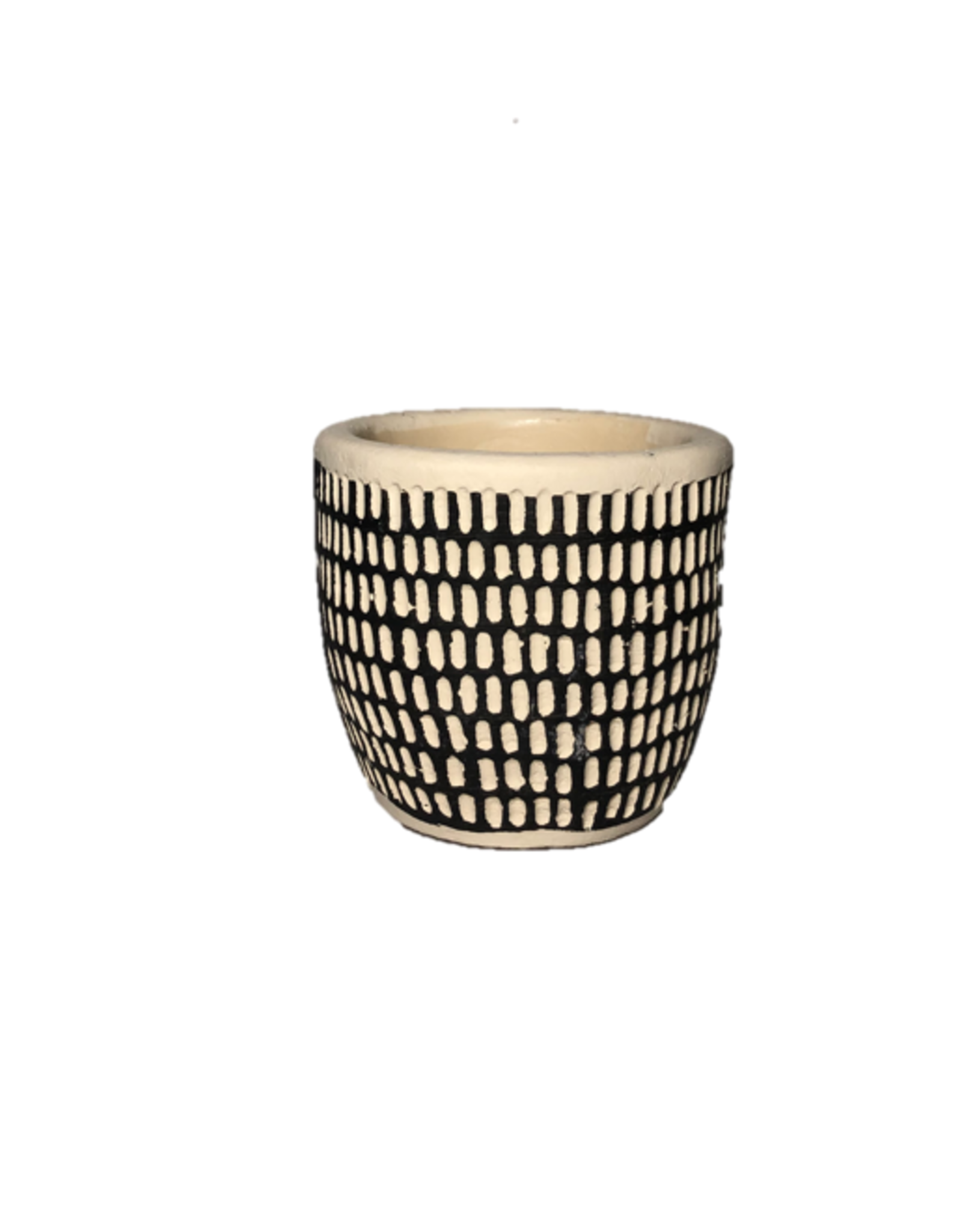"""NIA - Plant Pot/Spotted Small, 2"""""""