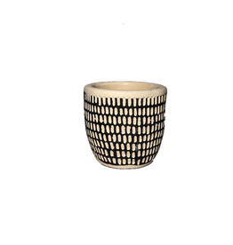 NIA - Plant Pot/Spotted, 2""