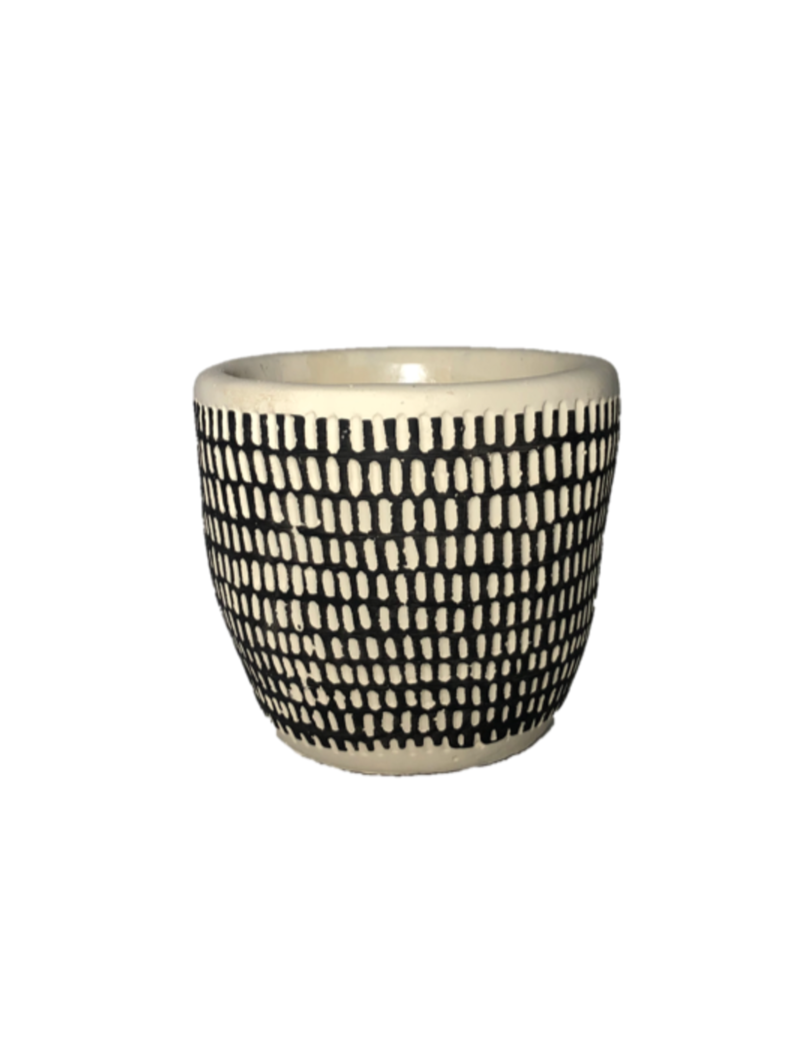NIA - Plant Pot/Spotted, 4""