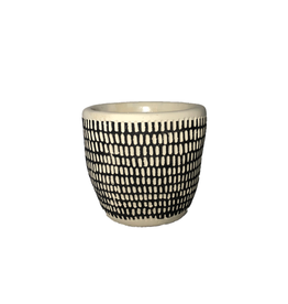 """NIA - Plant Pot/Spotted, 4"""""""