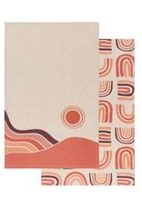 DCA - Tea Towel / Set 2, Desert