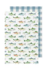 DCA - Tea Towel/Set 2 Fish