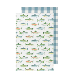 DCA - Tea Towel/Set 2, Fish