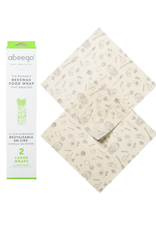 Abeego - Beeswax Wrap/Set 2, Large