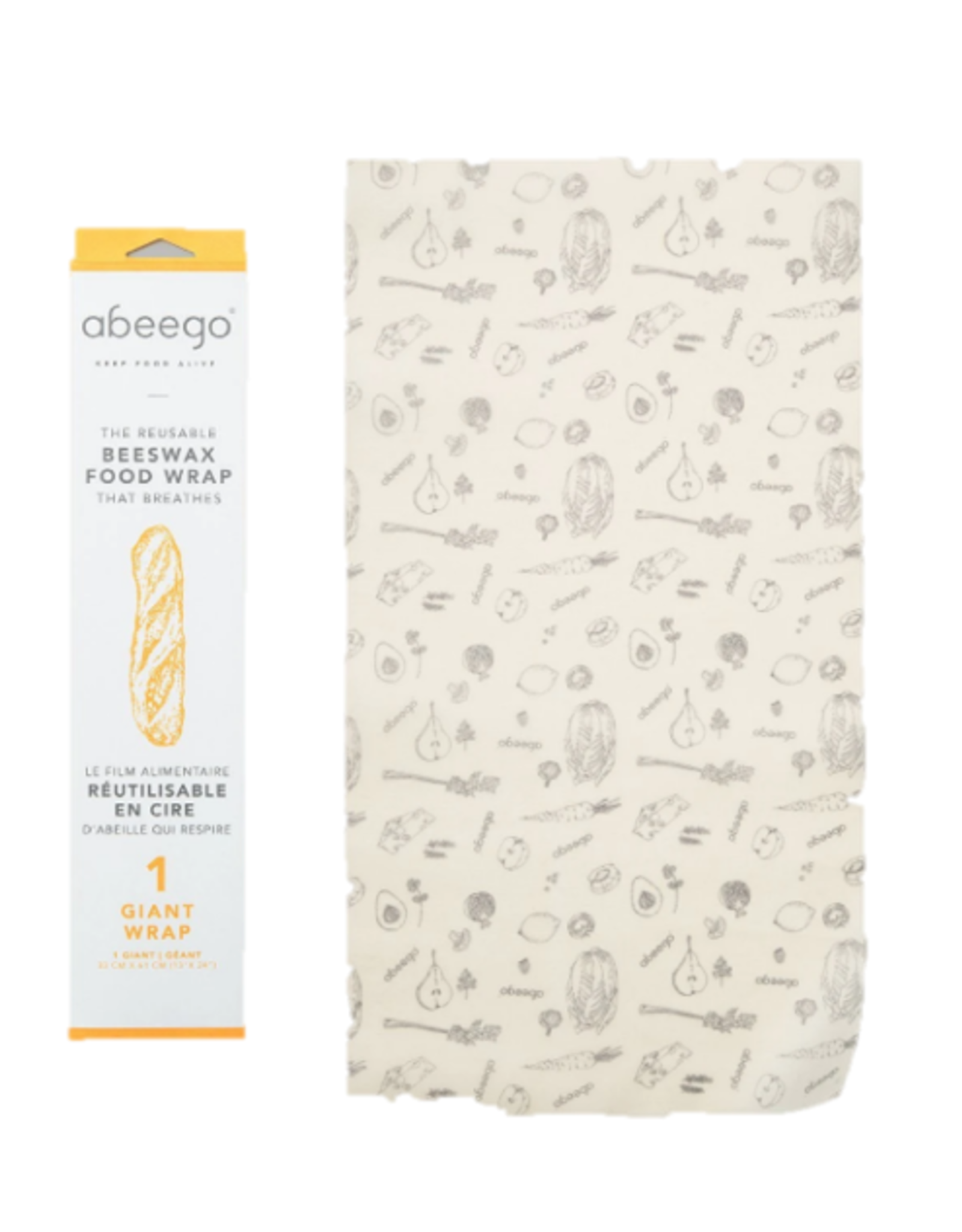 Abeego - Beeswax Wrap/XL
