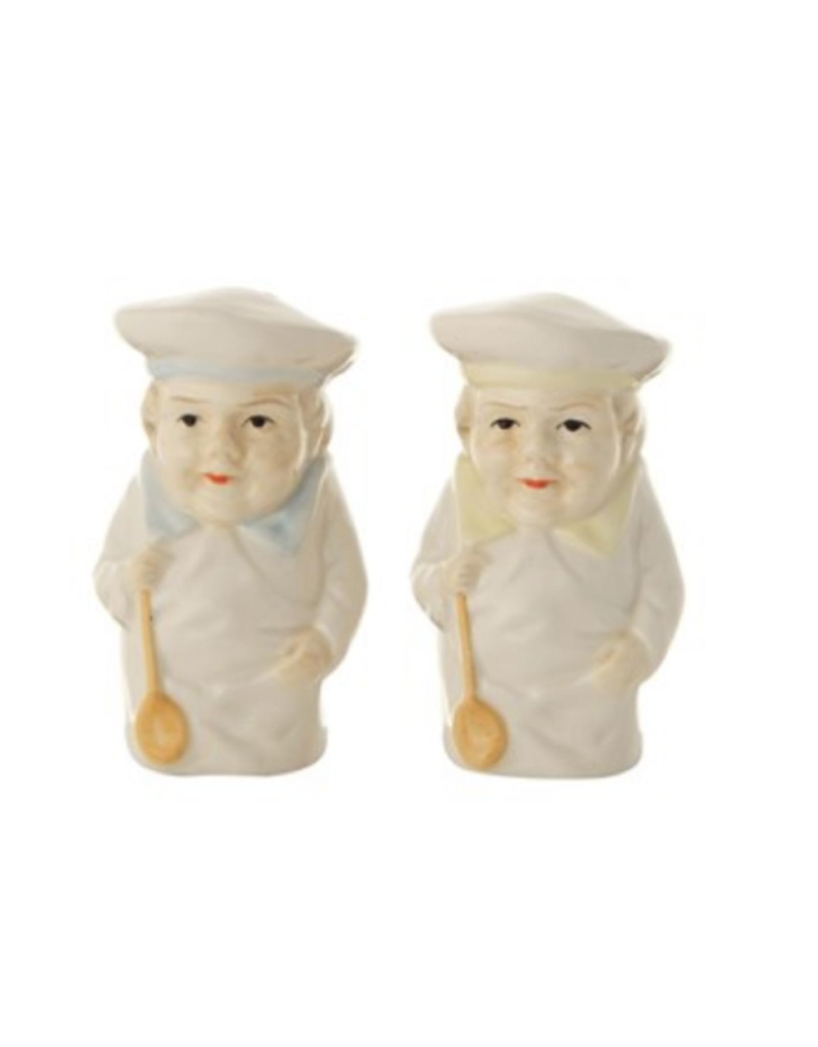 COP - Salt & Pepper Shakers/Chefs, Ceramic