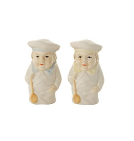 COP - Salt & Pepper Shakers/Chefs, Ceramic