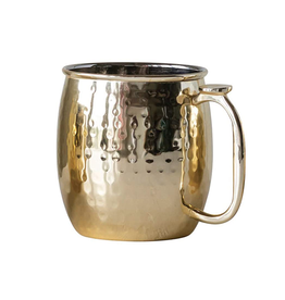 COP - Hammered Moscow Mule Mug/Gold 16oz