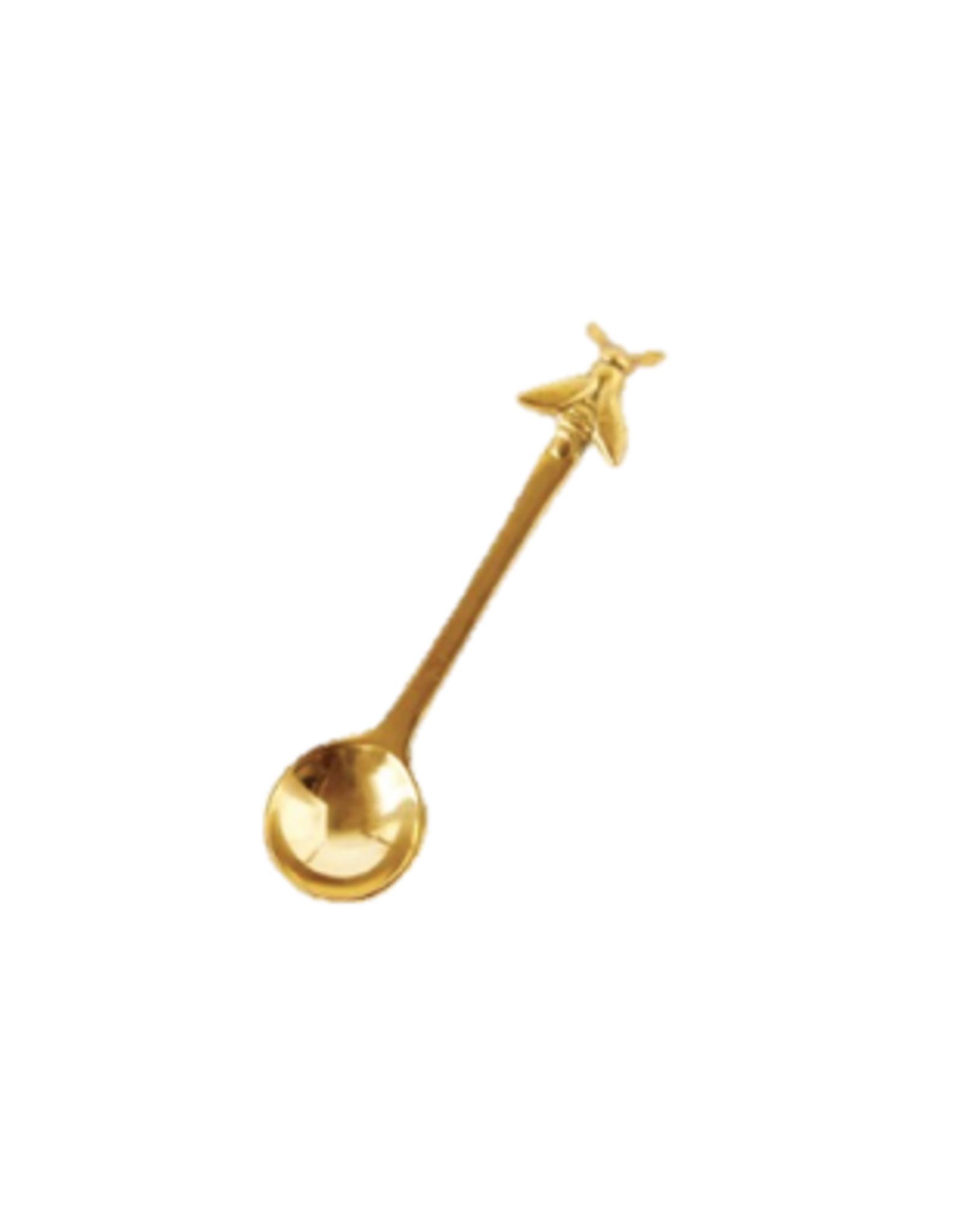 CVE - Brass Spoon with Bee