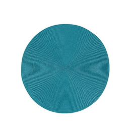 DCA - Placemat/Spiral, Bright Teal