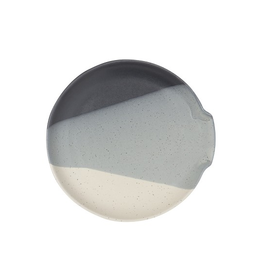 DCA - Spoon Rest/Three Shades Glaze Dark