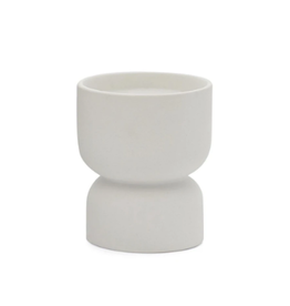 PAX - Soy Candle / Tobacco Flower, White Ceramic, 6oz