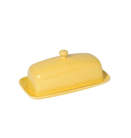 DCA - Butter Dish/Rectangle, Yellow