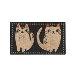 DCA - Doormat/Two Cats