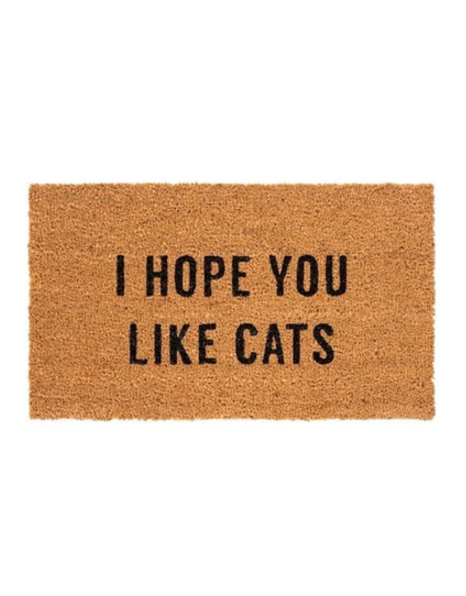 "IBA - Doormat / I Hope You Like Cats, 16 x 28"""