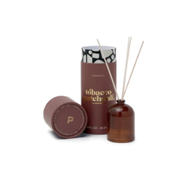PAX - Reed Diffuser Boxed Set / Tobacco Patchouli, Amber Glass, 1.5oz