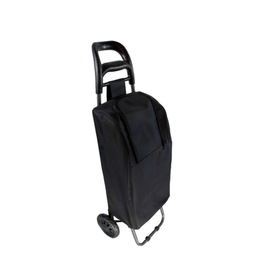"PLE - Insulated Shopping Cart/Black, 11 x 38"""