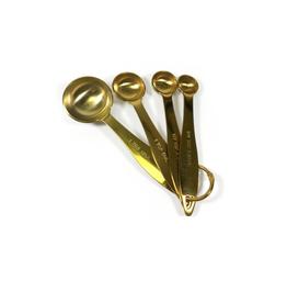 PLE - Measuring Spoons/Set 4, Gold