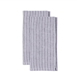 DCA - Napkin/Set 2 Stripe Indigo