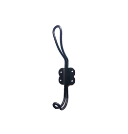 NTH - Double Wall Hook/Hairpin, Black, 5.5""