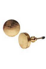 NTH - Knob/Round Brass