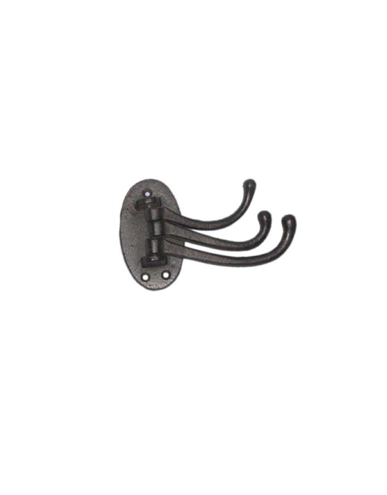 NTH - Hook/Triple Swivel, Black