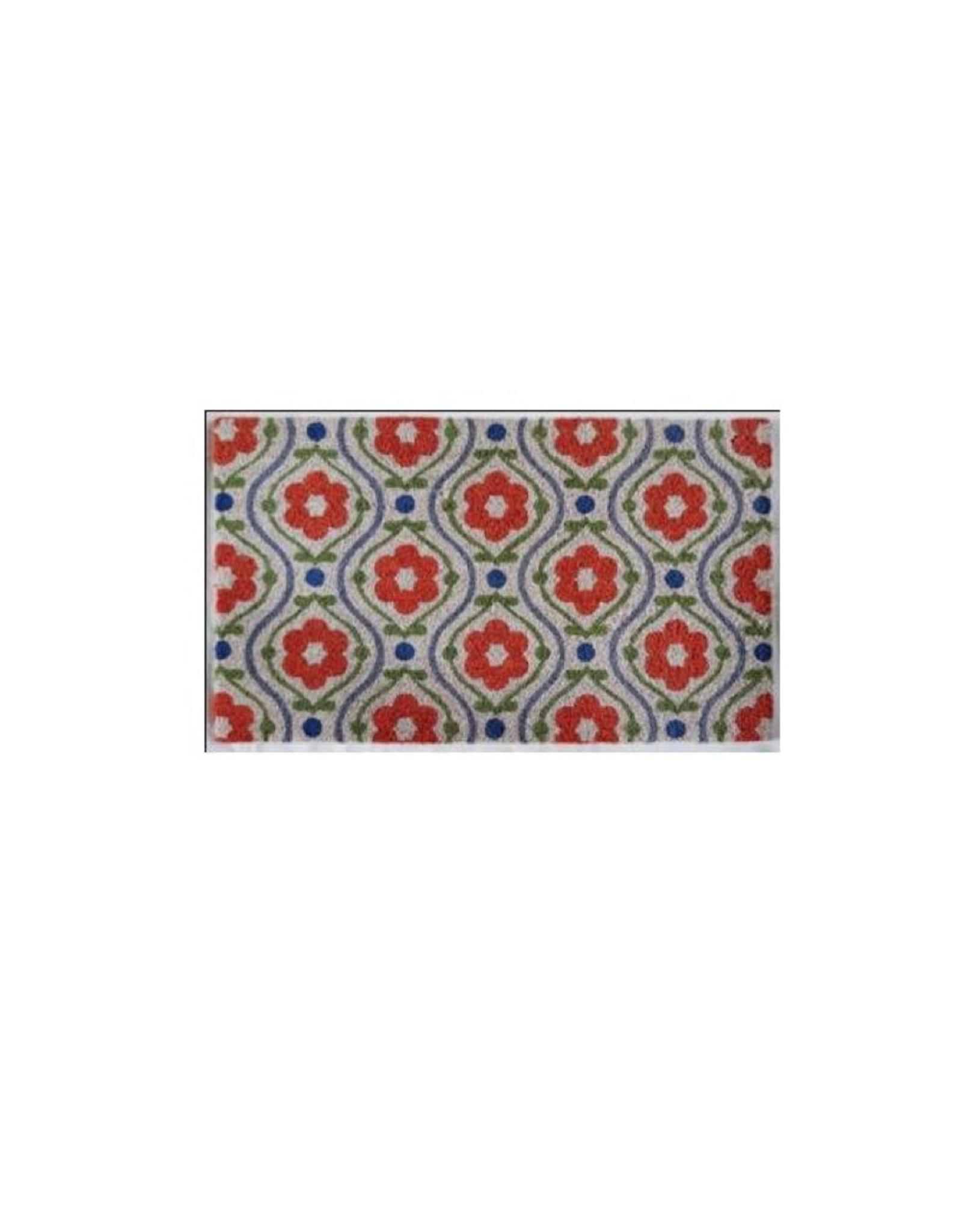 "NTH - Doormat/Floral Folk, 30 x 18"""