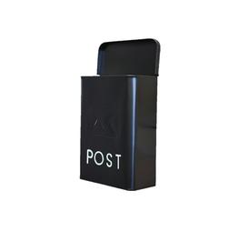 NTH - Mailbox/Modern, Galvanized Black