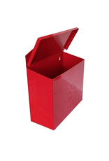 NTH - Mailbox/Embossed Bird, Red