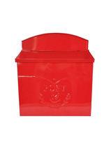 NTH - Post Mailbox/Embossed Bird, Red