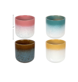 CTG - Plant Pot/Layered Glaze 3.25""