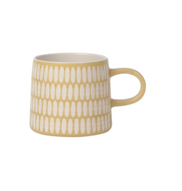 DCA - Mug/Matte Geo, Golden, 12oz