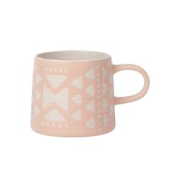 DCA - Mug/Matte Geo, Pink, 12oz