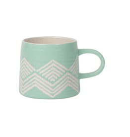DCA - Mug/Matte Geo, Mint, 12oz