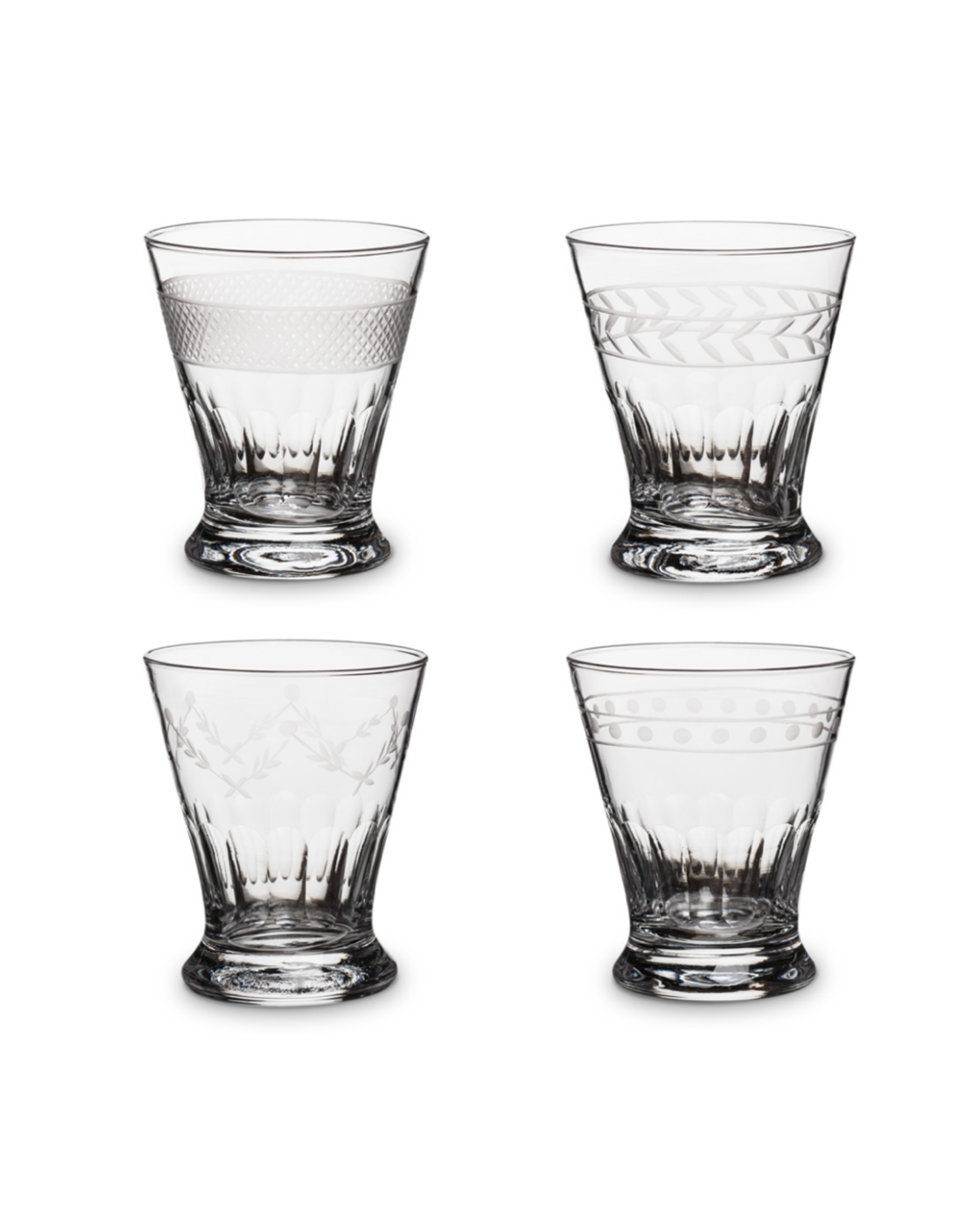 ATT - Etched Cocktail Glass