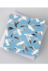 Kat Frick Miller - Card/Seagulls