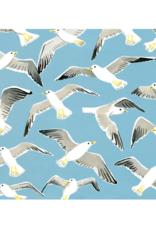 """Kat Frick Miller - Card / Seagulls, 5.75 x 5.75"""""""