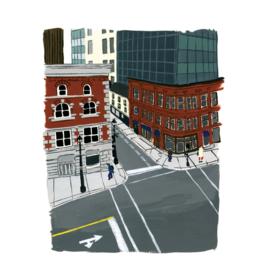 """Kat Frick Miller - Print/Duke Street 8 x 10"""""""