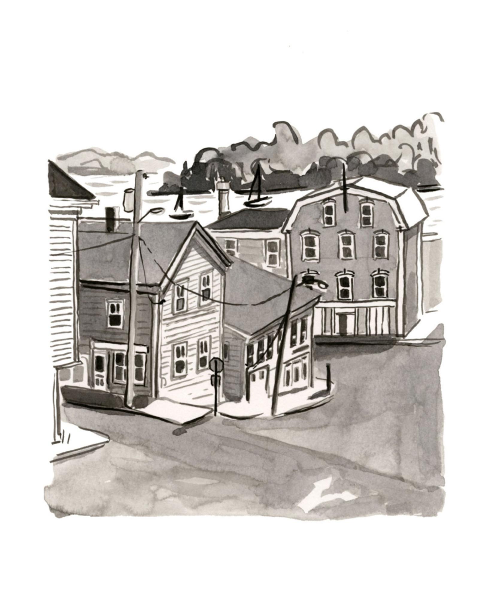 """Kat Frick Miller - Print/Prince Street, 8 x 10"""""""