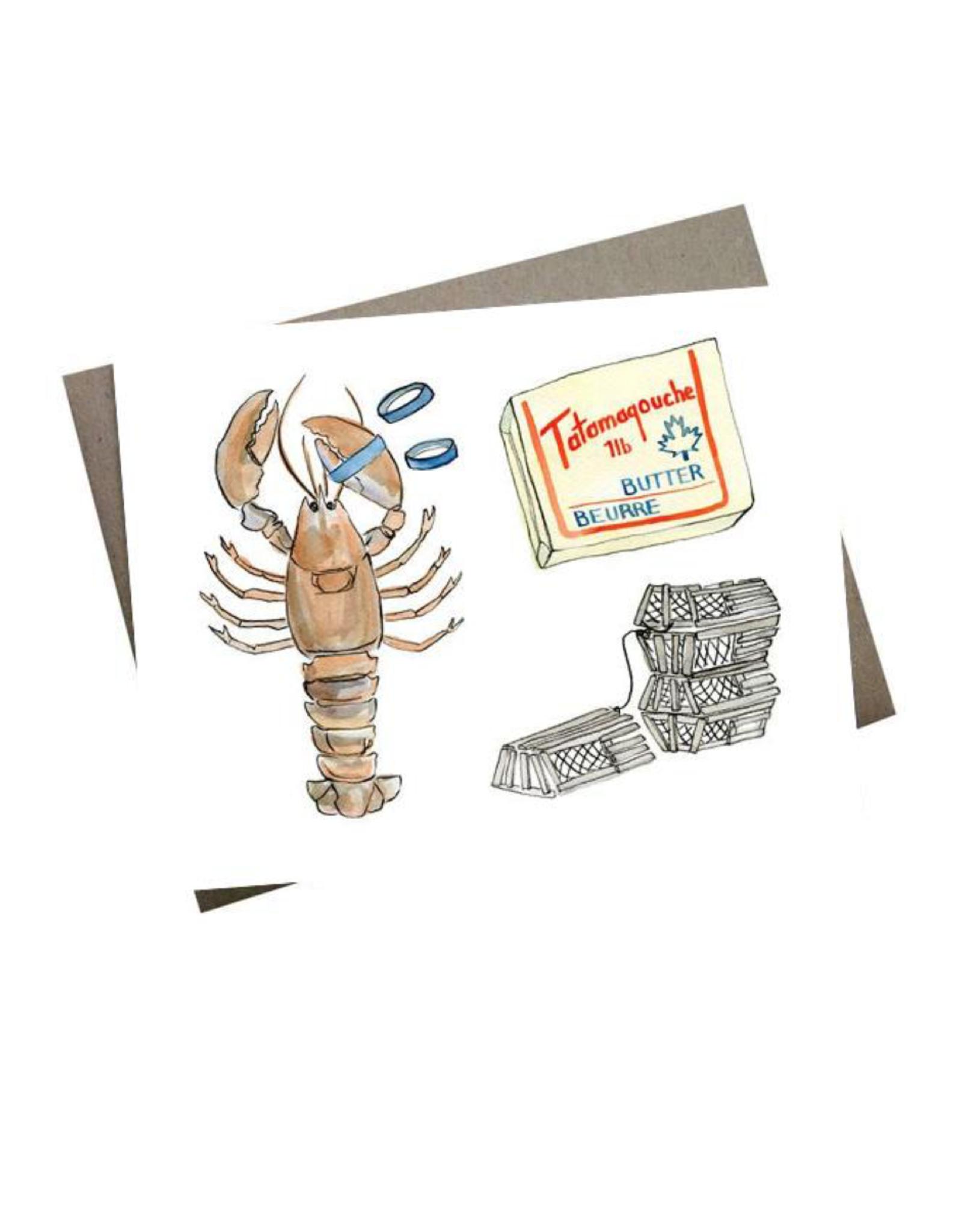 Kat Frick Miller - Card/Lobster Dinner