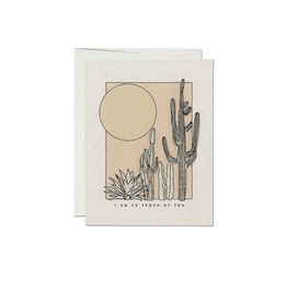 "RAP - Card / I am so Proud of You, Cactus, 4.25 x 5.5"""