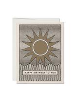 """RAP - Card/Sun, Birthday, 4.25 x 5.5"""""""